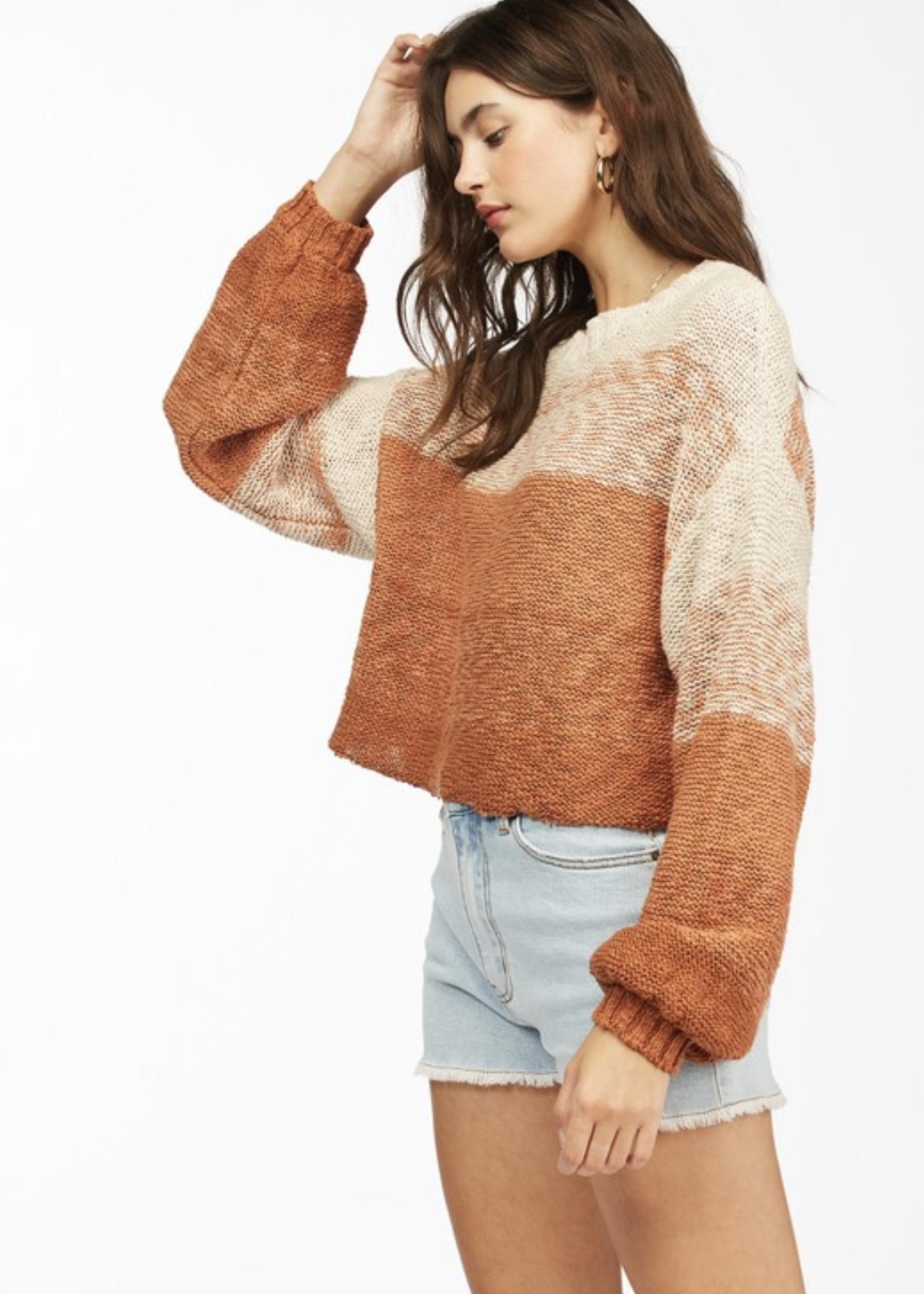 billabong billabong blending in sweater