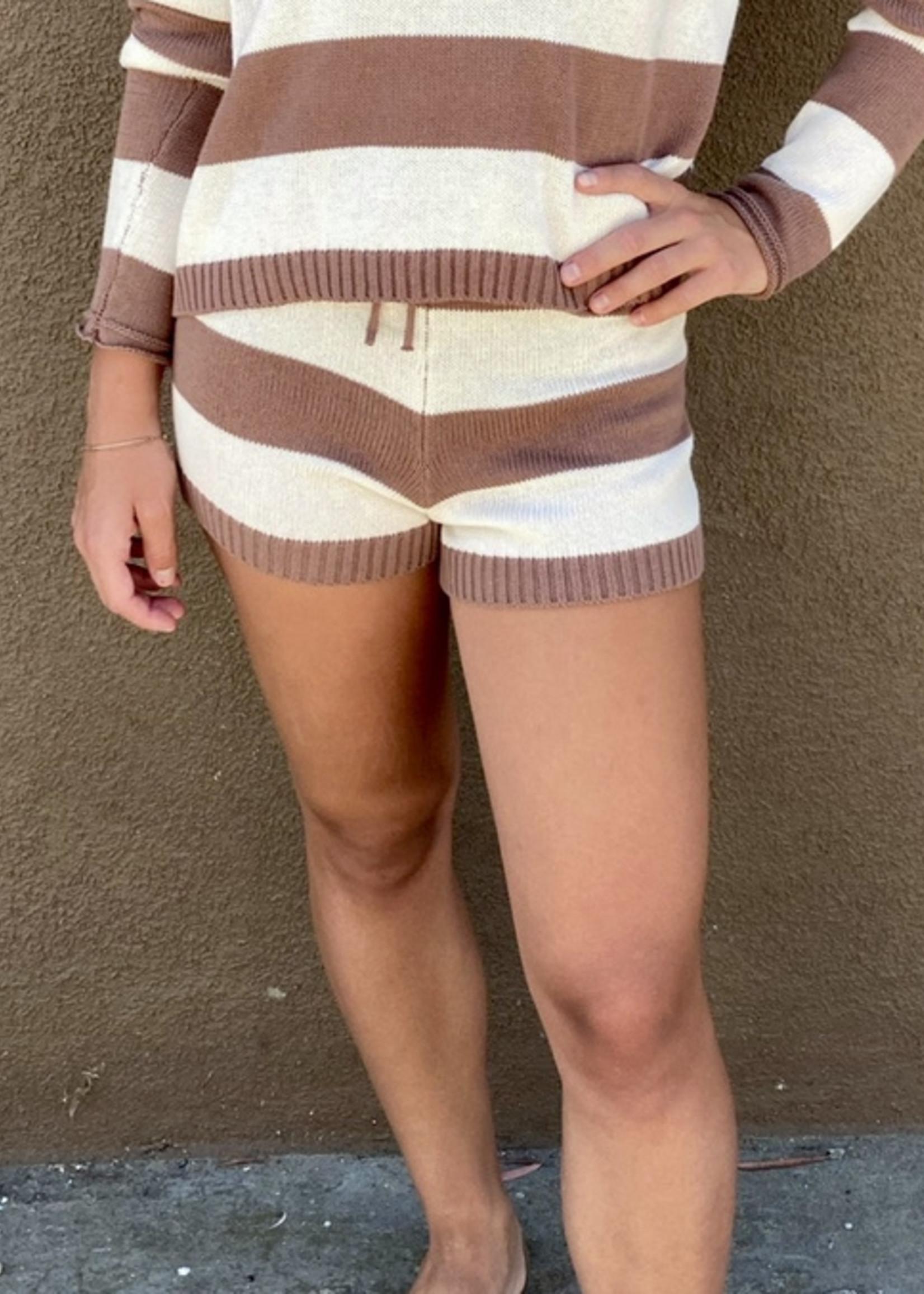 z supply z supply terrace stripe sweater short