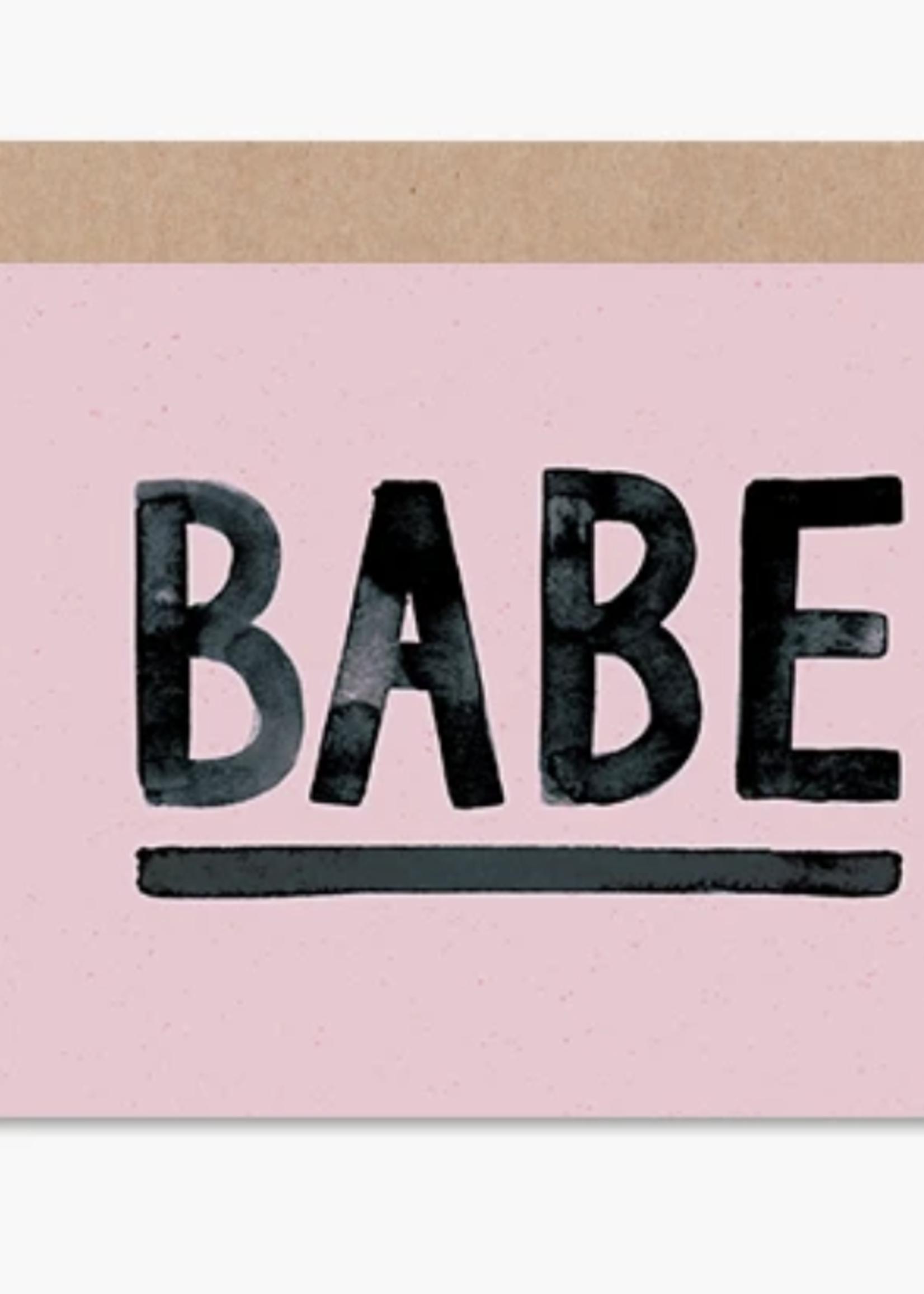 daydream prints babe card