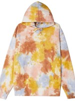 obey mini bold recycled tie dye pullover hoodie