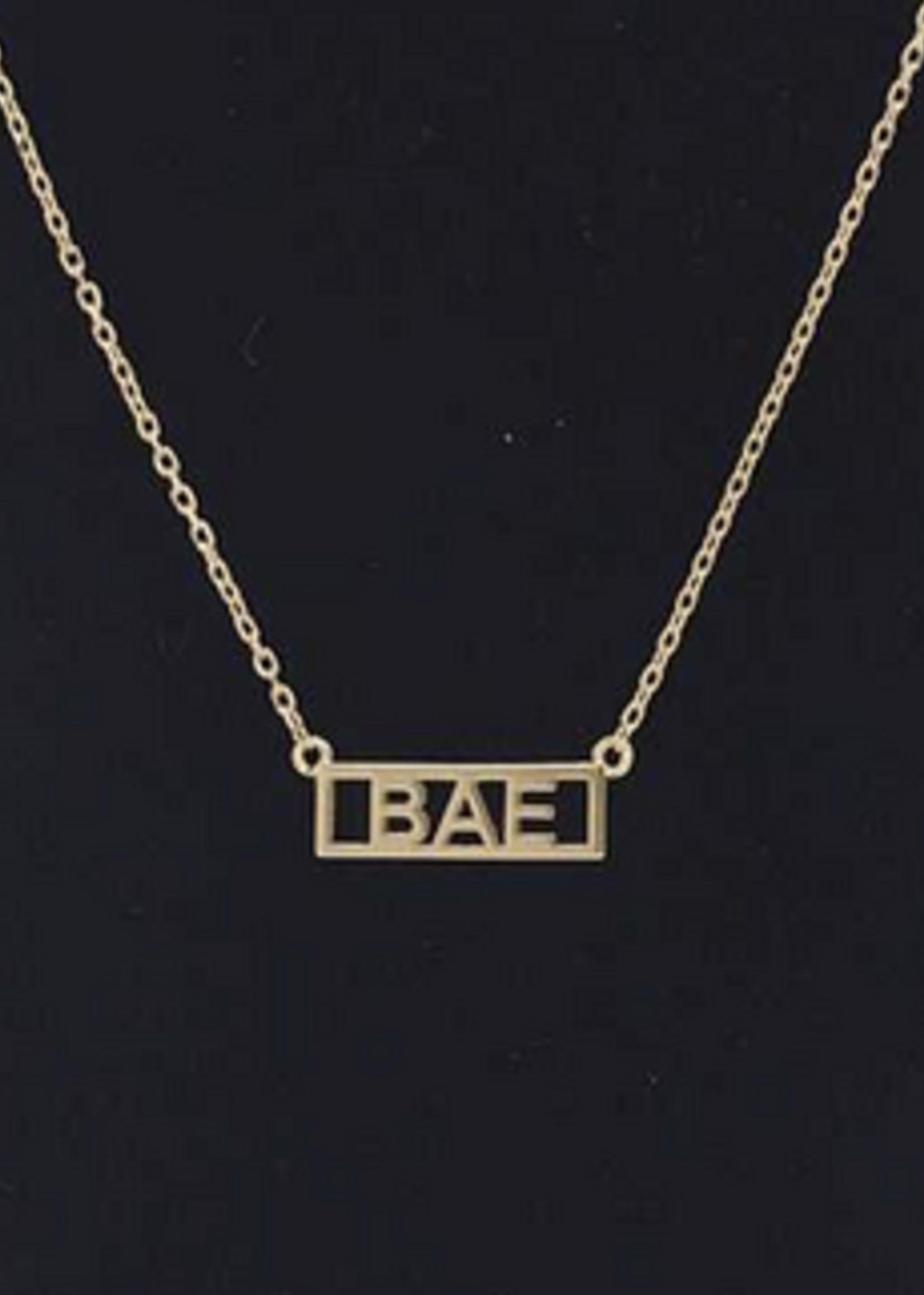 bae necklace
