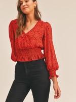 lush sly blouse