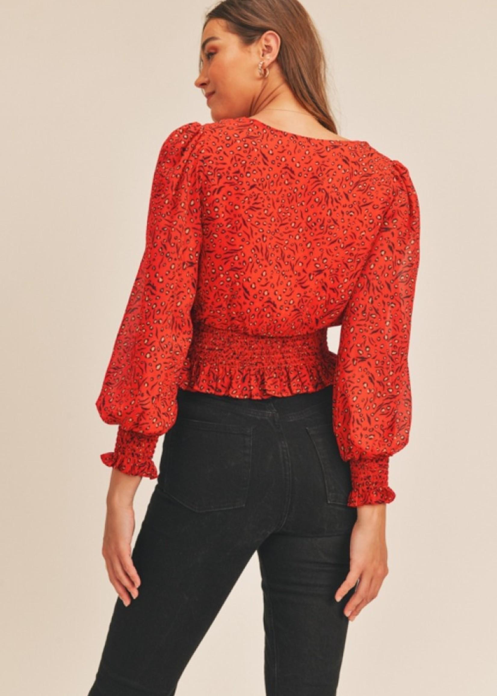 lush lush sly blouse