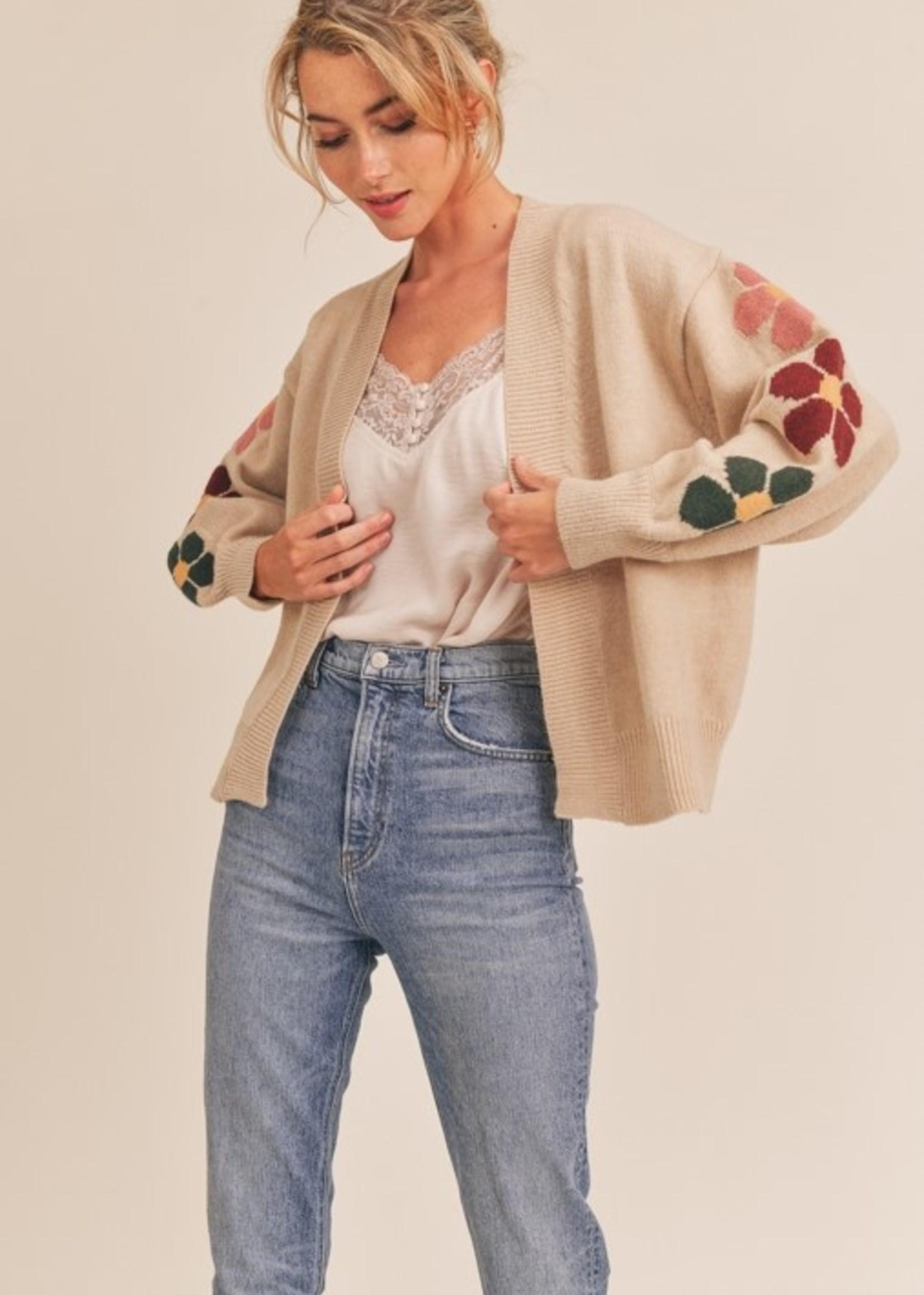 lush lush daisy cardigan