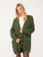 free people montana cable cardigan