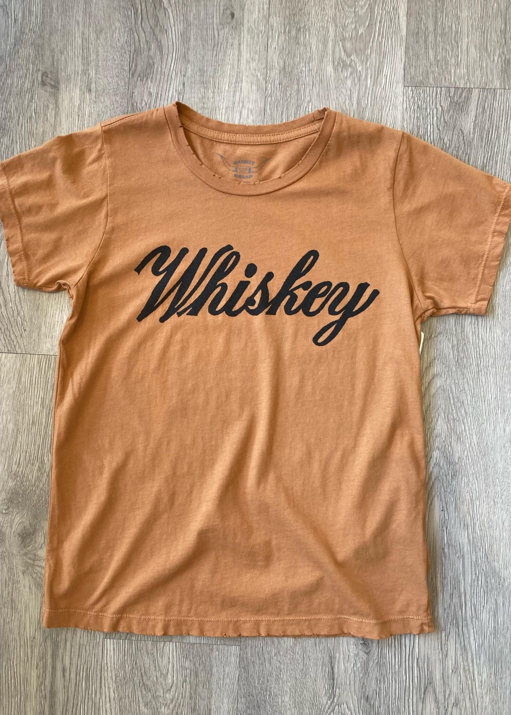 bandit brand bandit brand whiskey tee