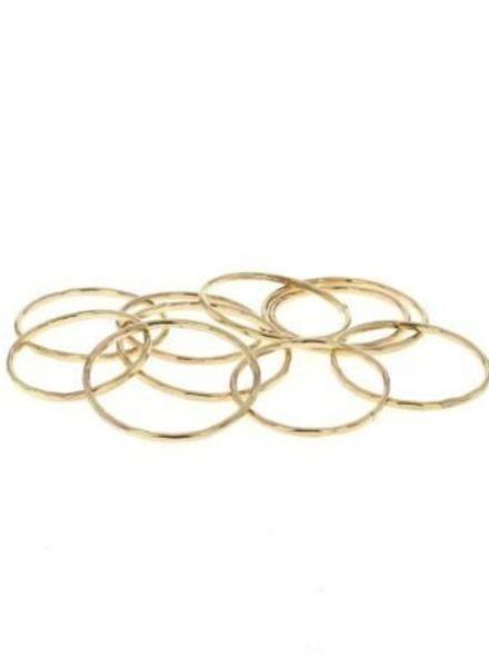 lotus jewelry studio stacking ring gold
