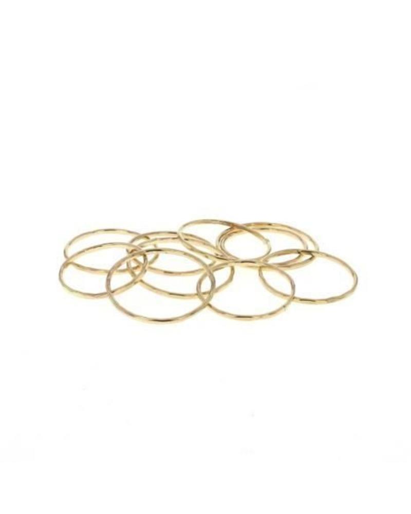lotus jewelry studio lotus stacking ring gold