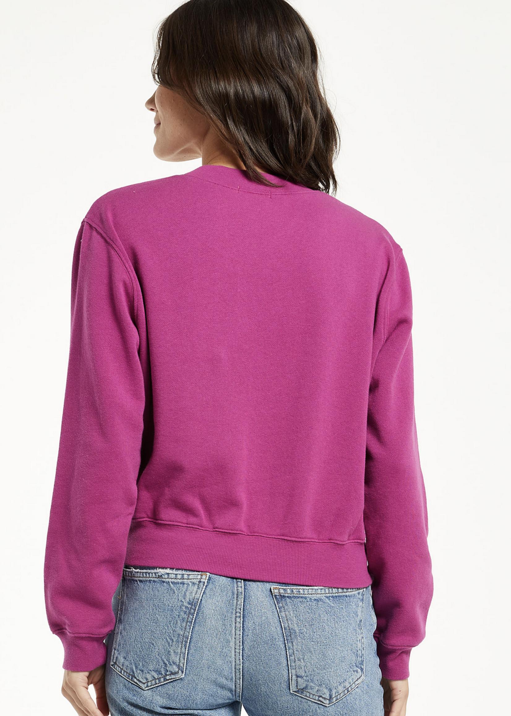 z supply z supply classic crew sweatshirt