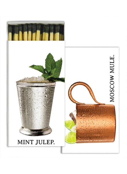 homart moscow mule & mint julep matches