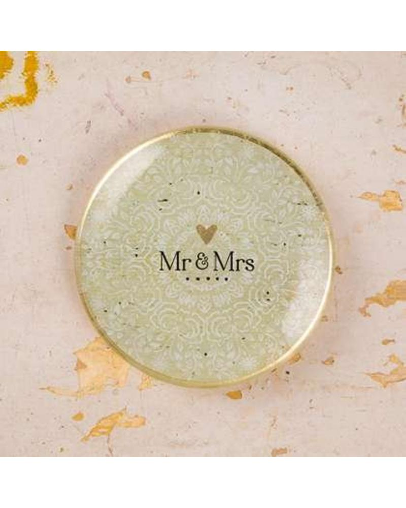 natural life natural life glass tray mr mrs