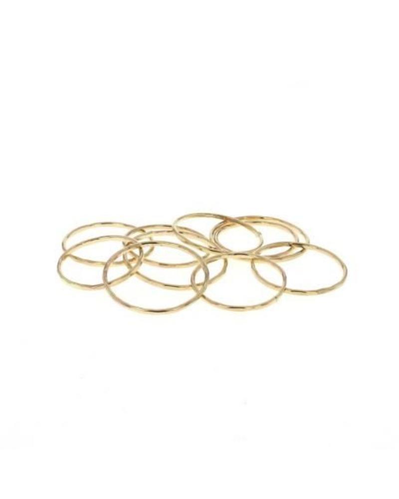 lotus jewelry studio lotus stacking ring gold