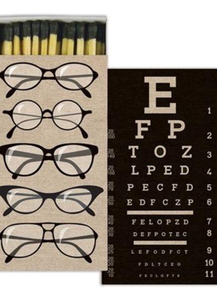 homart eye chart matches