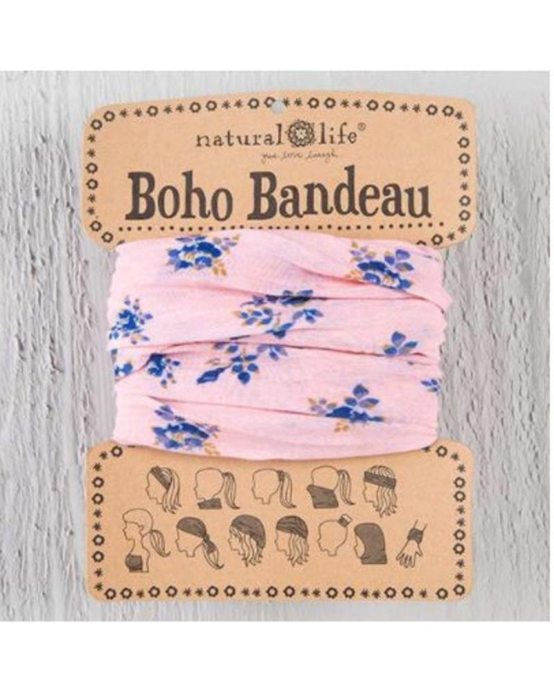 natural life natural life boho bandeau pink roses