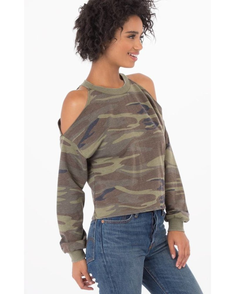 z supply z supply cropped pullover
