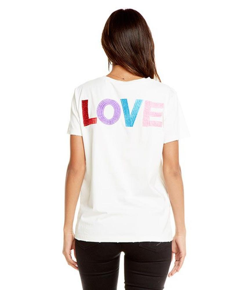 chaser rosey love tee