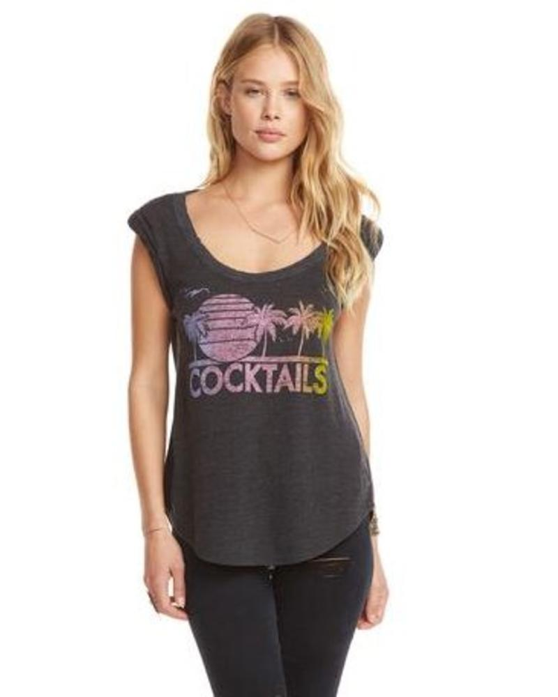 chaser chaser cocktails tee