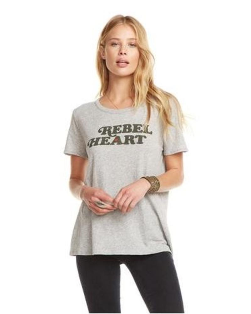 chaser chaser rebel heart tee