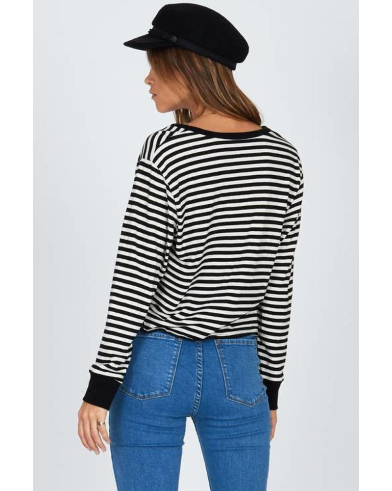 amuse society amuse society honey stripe top