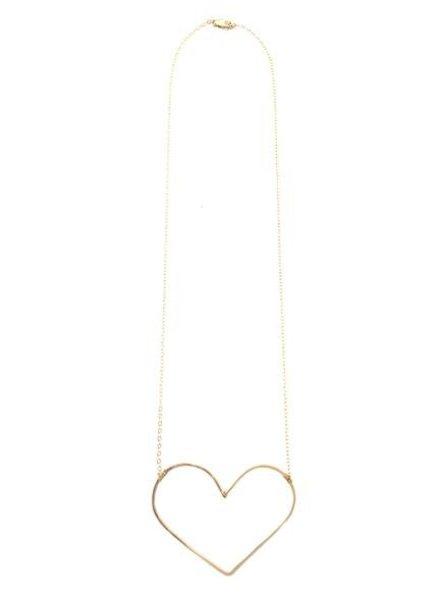 mimi & lu wild heart necklace