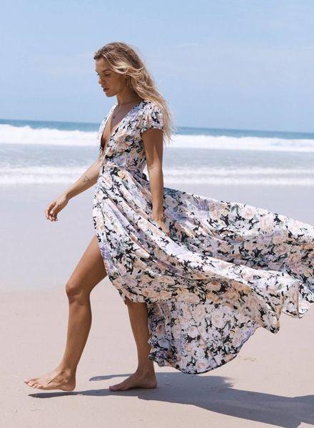 auguste the label gardenia goldie dress