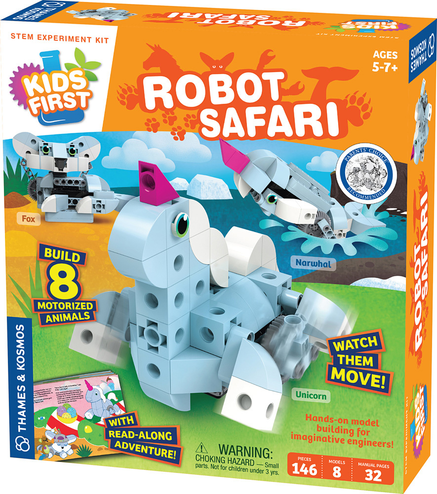 Kids First Kids First: Robot Safari - Introduction to Motorized Machines