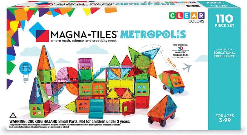 Magnatiles Metropolis 110pc