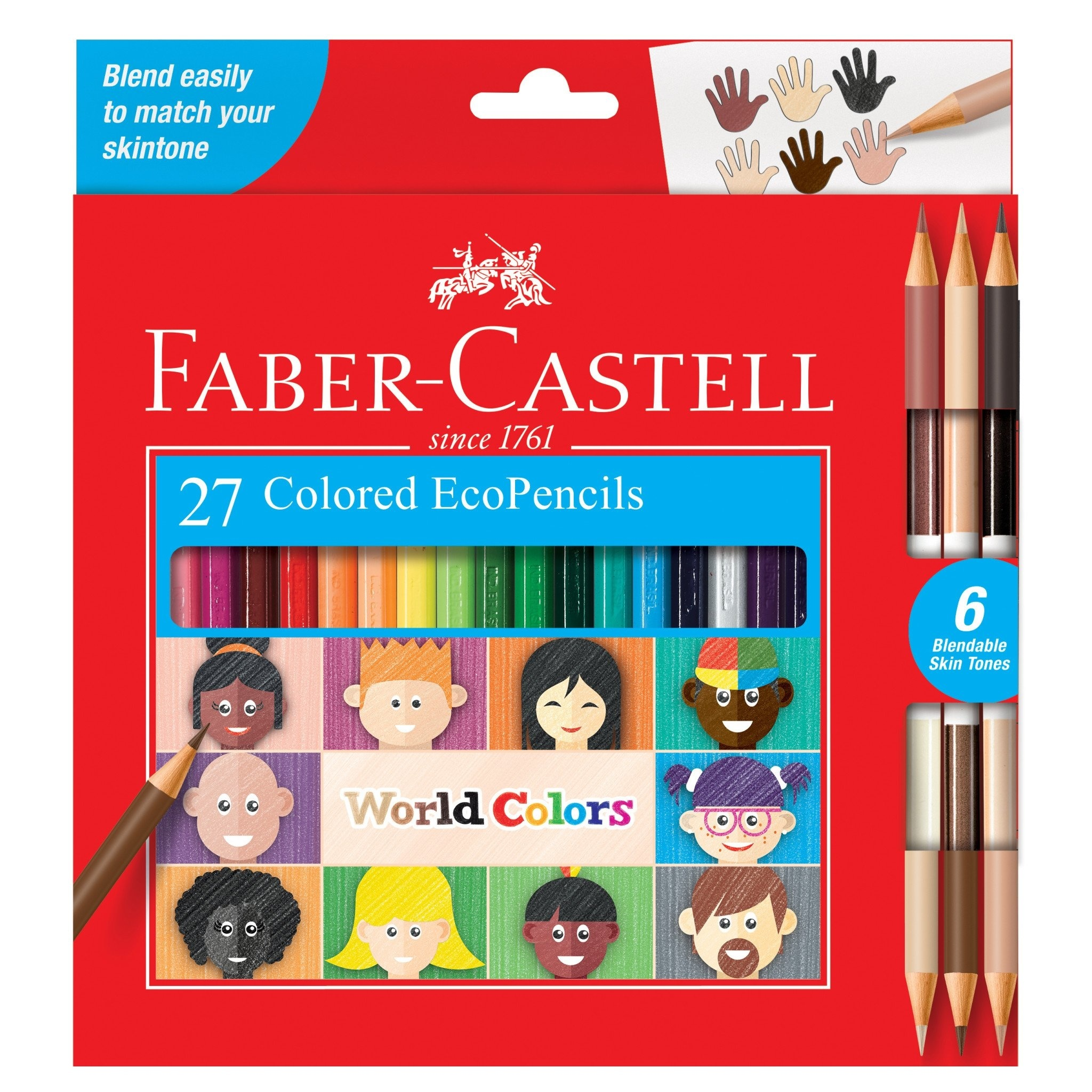 Creativity for Kids/Faber-Cast World Colors - 27ct EcoPencils