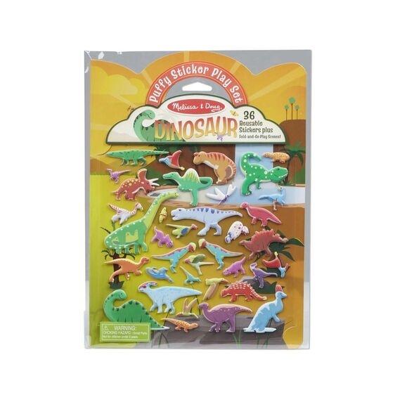 Puffy Sticker Pad - Dino