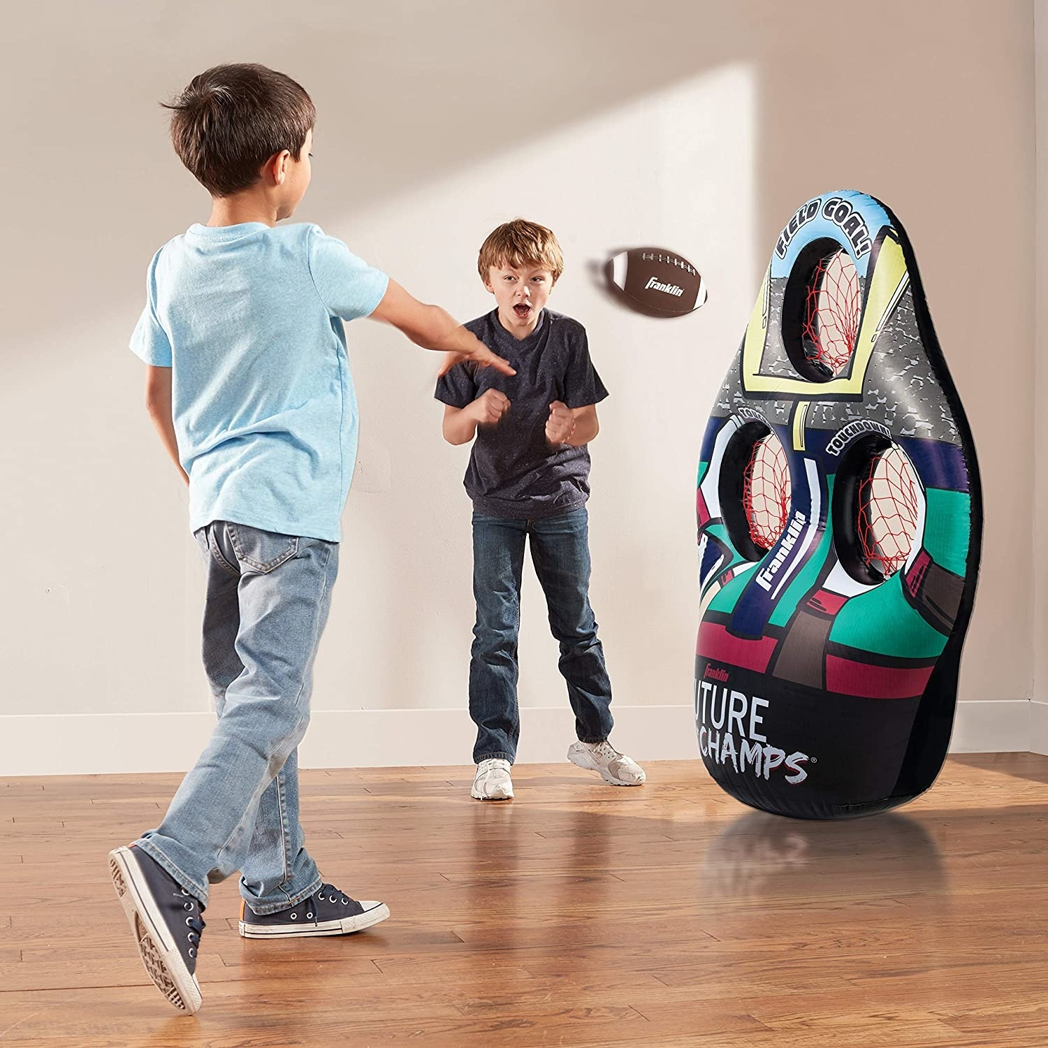 Kids Inflatable Football Target