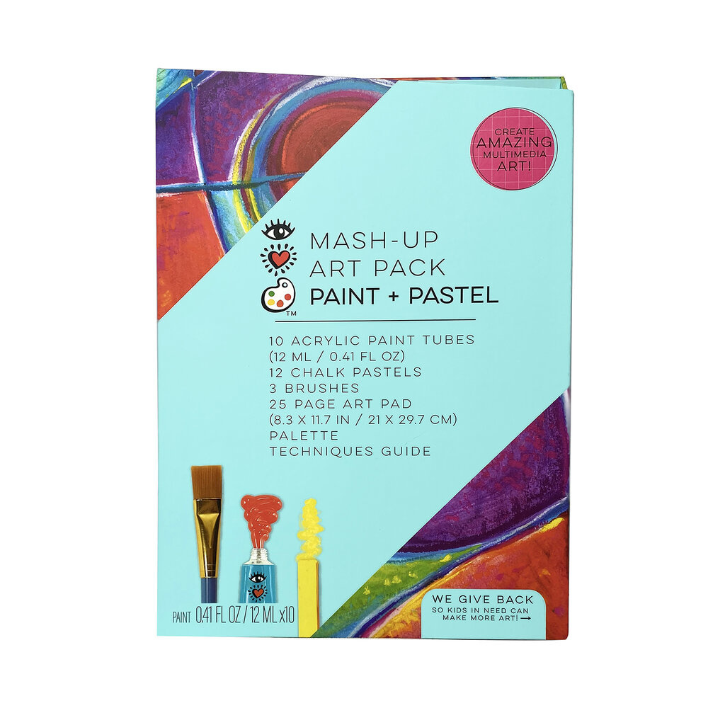 Mash Up Art Pack Paint & Pastel