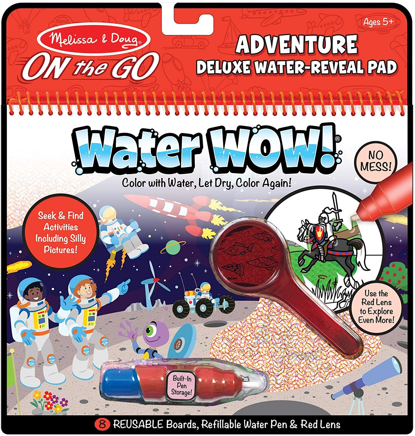 Water Wow! Deluxe Water Reveal Pad - Adventure
