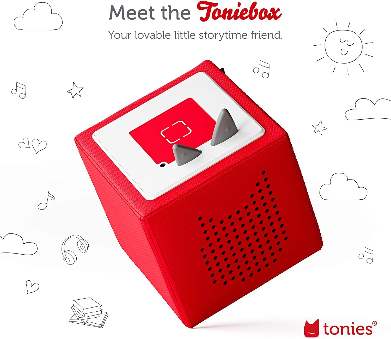 Toniebox Starter Set Red