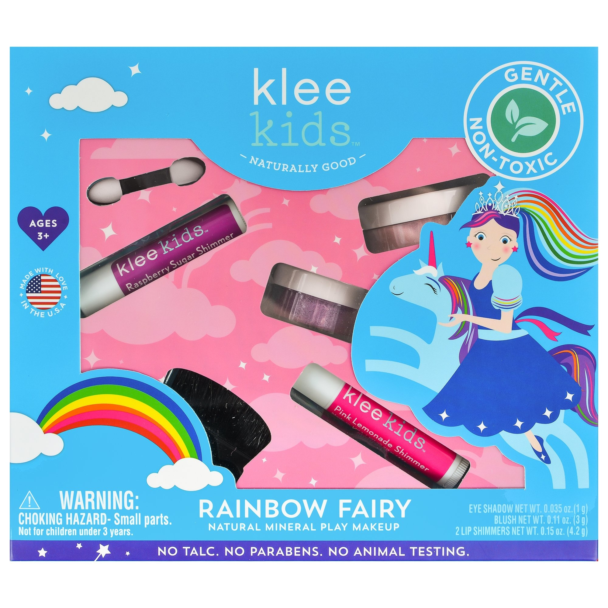 Klee Kids Rainbow Fairy Play Makeup