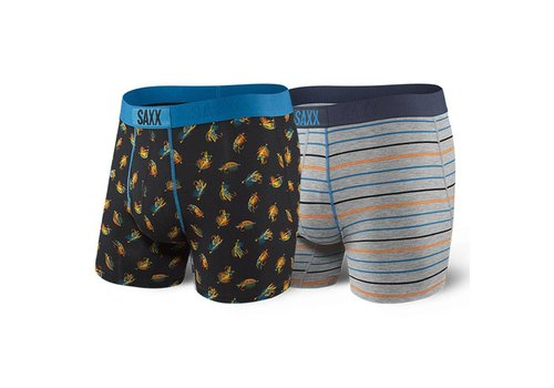 SAXX Ultra Boxer Brief Fly 2PK Gone Fishing