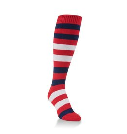World's Softest World's Softest - Team Tri-Color Rugby Knee High - WSTMOTC - Red/Blue/White
