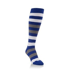 World's Softest World's Softest - Team Tri-Color Rugby Knee High - WSTMOTC - Navy/White/Grey