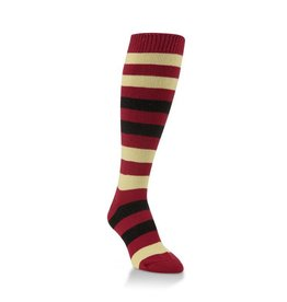 World's Softest World's Softest - Team Tri-Color Rugby Knee High - WSTMOTC - Garnet/Gold/Black