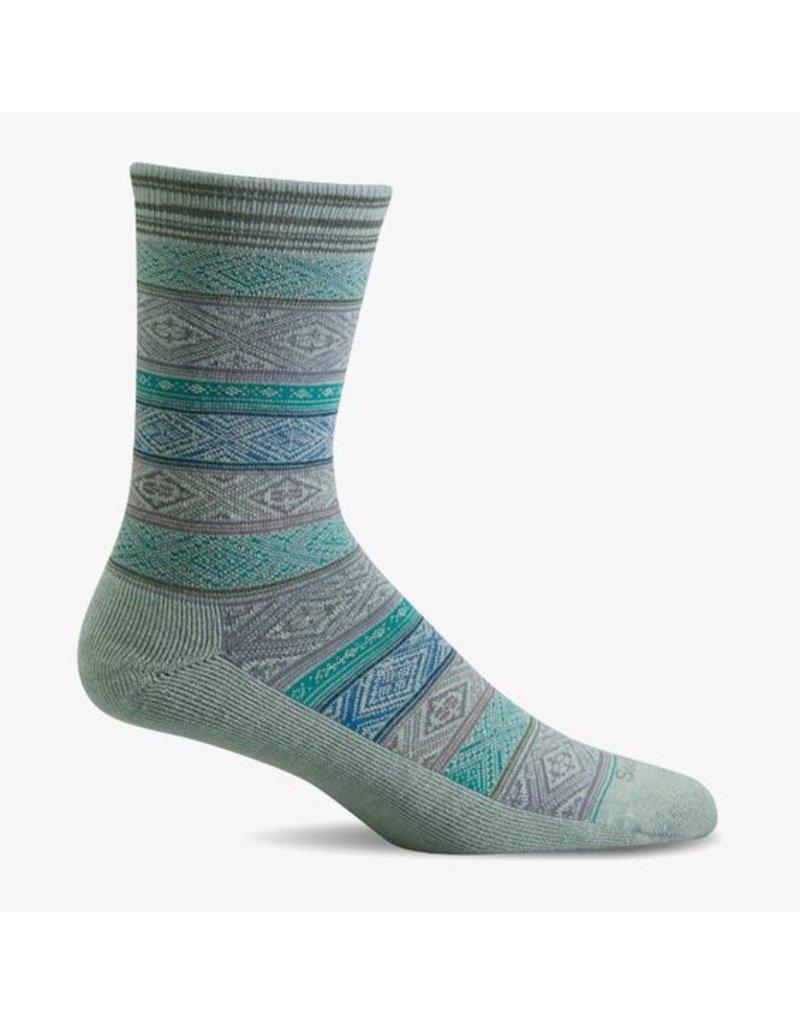 Sockwell Sockwell - Essential Comfort - Boho - LD150W - Celadon - Women's