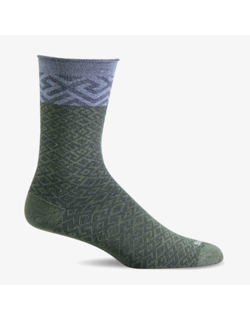 Sockwell Sockwell - Essential Comfort - Mosaic - LD153W - Eucalyptus - Women's