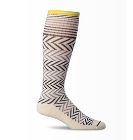 Sockwell Sockwell - Moderate Lifestyle Compression - Chevron - SW7W - Natural - Women's