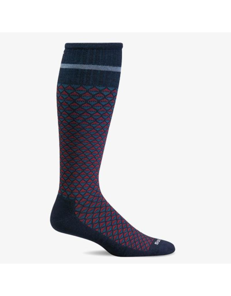 Sockwell Sockwell - Firm Lifestyle Compression - Micro Mix - SW32M - Navy - Men's