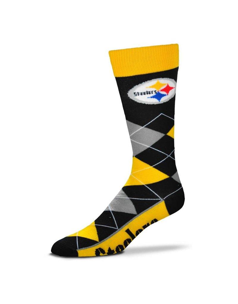 FBF FBF - Argyle Lineup - Pittsburgh Steelers - Unisex