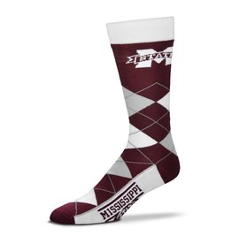 FBF FBF - Argyle Lineup - Mississippi State Bulldogs - Unisex
