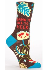 Blue Q Blue Q - Dang It All To Heck - Crew - Women's