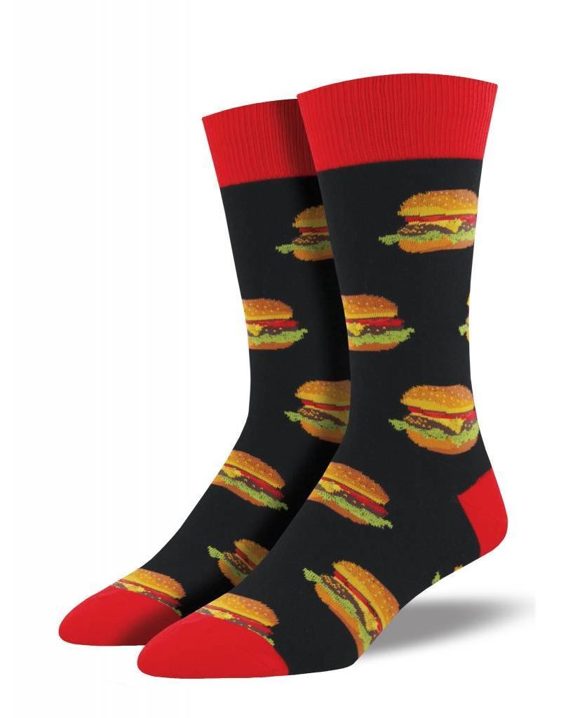 Socksmith Socksmith - Good Burger - Black - MNC935 - Crew - Men's