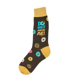Foot Traffic Foot Traffic - Donut Judge Me - 6926M - Crew - Men's