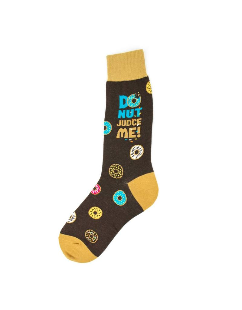 Foot Traffic Foot Traffic - Donut Judge Me - 6926M - Crew - Men's