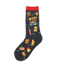 Foot Traffic Foot Traffic - WTF (Where's the Food?) - 6950 - Crew - Women's