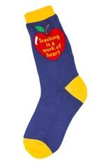 Foot Traffic Foot Traffic - Teaching Heart - 6876 - Crew - Women's